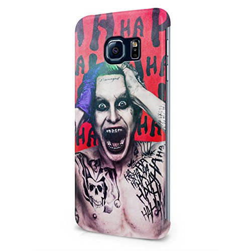 Suicide Squad Joker Ha Ha Hard Snap-On Protective Case Cover For Samsung Galaxy S6 Edge
