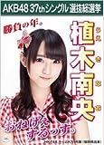 【植木南央】ラブラドール・レトリバー AKB48 37thシングル選抜総選挙 劇場盤限定ポスター風生写真 HKT48チームK4