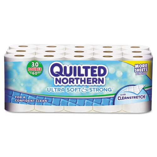 Quilted Northern Soft & Strong Bathroom Tissue, 190 sheets/r