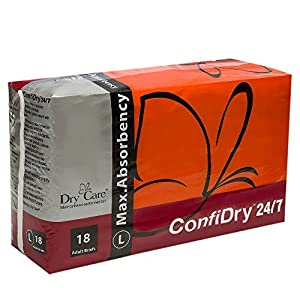 ConfiDry 24/7 Dry CareConfiDry 24/7 Max Absorbency