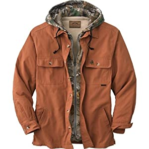 Voyager Hooded Shirt Jacket by Legendary Whitetails