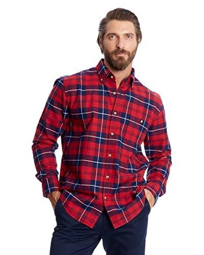 Pedro del Hierro Camisa Casual Rojo