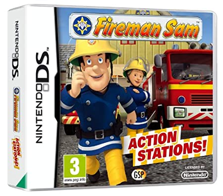 Fireman Sam - Action Stations (Nintendo DS)