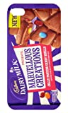 Iphone 4/4s Cadbury Dairy Milk Marvellous Creations Black iphone case Free Next Day Delivery
