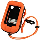 CASE for Garmin Montana 650 680 610 600 series in Premium Orange color. Made in the USA GizzMoVest LLC.