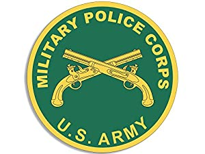 Amazon.com: Round US Military Police Corps Seal Sticker (army mp logo