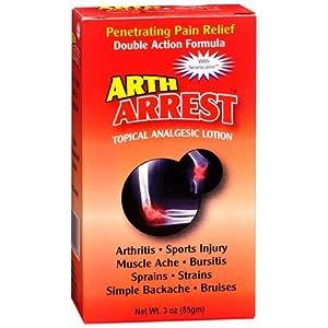 Arth Arrest Topical Analgesic Lotion 3oz