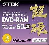 TDK 8cmDVD-RAM 60分記録 超硬 スマートケース入り 3枚パック DRAM60HC3A