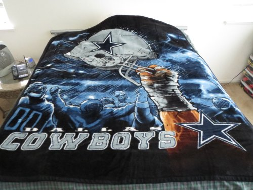 Cheapest! Dallas Cowboys Licensed NFL Team Blanket Throw Dallas