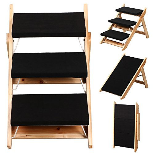 Beyondfashion-Folding-Dog-Ramp-Pet-Mobility-Steps-Stairs-Portable-Ladder-Pup-Travel