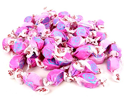 Cotton Candy Pink & Blue Gourmet Salt Water Taffy 1 Pound Bag (Blue Salt Water Taffy 1lb compare prices)