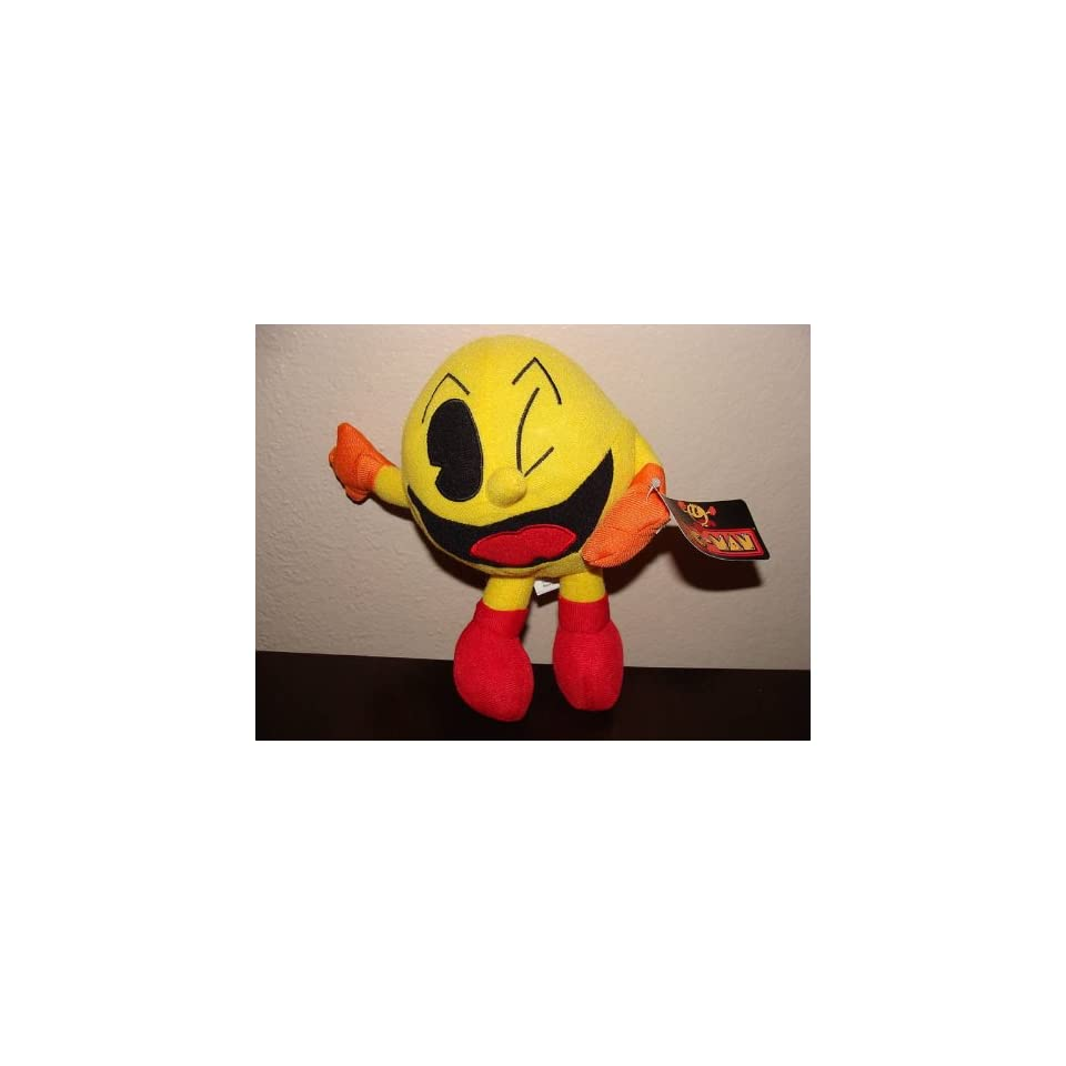 Pac Man 8 Plush Toy Toys & Games