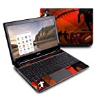 Pigskin Design Protective Decal Skin Sticker (High Gloss Coating) for Acer C7 C710-2847 Chromebook