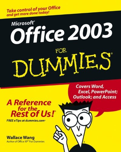 Microsoft Office 2003 For Dummies front-667986