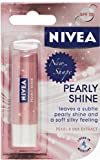 Nivea Lip Balm Care Pearly Shine 4.8g Pearl & Shine Silk Extract x 3 Packs