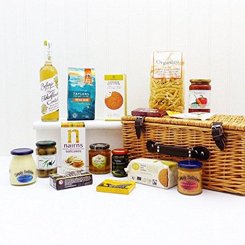 Lusso organico stagionale Cestino di prodotti - grande idea regalo per compleanni, matrimoni, anniversari, Natale, San Valentino e molto altro ancora.