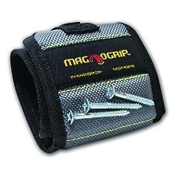 MagnoGrip 002-160 6 Pack Magnetic Wristband, Platinum