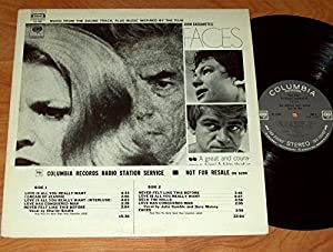 FACES (ORIGINAL SOUNDTRACK LP, 1968)