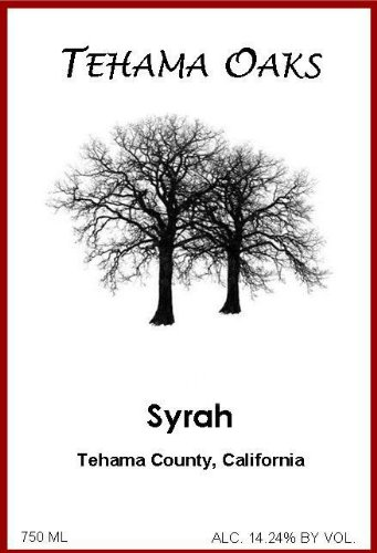 2011 Tehama Oaks Syrah 750 Ml