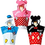 Mommy&Baby New Arrival Disney Bathrobe Adorable Kids Bath Towel Fancy Gift for Baby SY016B (Donald Duck)