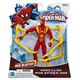 Nano Claw Iron Spider-Man The Ultimate Spider-Man Action Figure