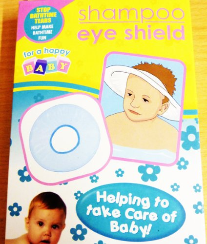 Baby first shampoo eye shield