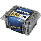 RAYOVAC 815-30PPTJ Alkaline Batteries Reclosable Pro Pack (AA; 30 Pk)