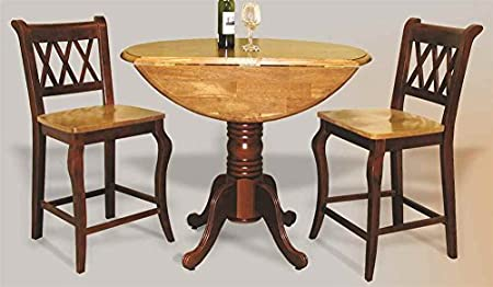 3-Pc Round Dining Set