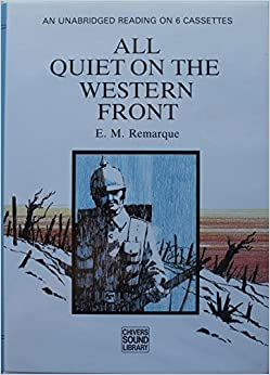 "a literary analysis of the novel all quiet on the western front by erich maria remarque This ""all quiet on the western front"" research paper presents an analysis of the book from a specific point of viewthe author examines how erich maria remarque touched on the topic of the animal instinct in his novel."