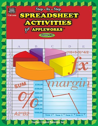 Step-by-Step Spreadsheet Activities for AppleWorks(R)