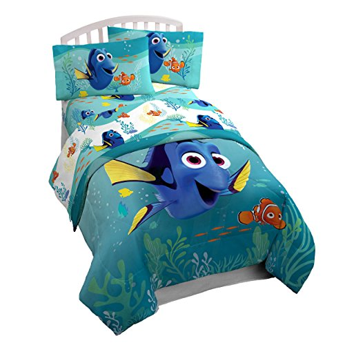 Disney/Pixar Finding Dory Stingray Friends 3 Piece Sheet Set, Twin