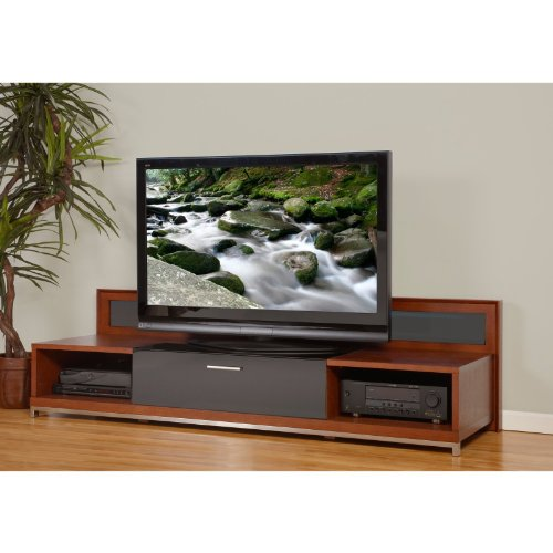 Cheap Plateau Valencia 79 Inch TV Stand in Walnut (VALENCIA 79 (W))