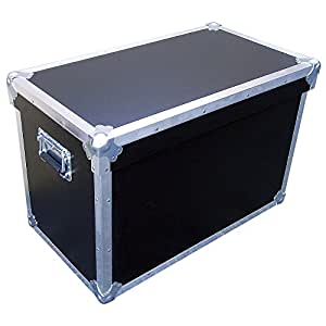 trunk ata style case w shoe box lid heavy duty 3 8 ply inside dimensions 30 x 16. Black Bedroom Furniture Sets. Home Design Ideas