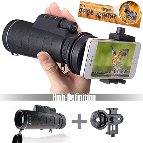 Universal-10x40-Telephoto-Lens-Cell-Phone-Telescope-Extra-Phone-Attachment-Mount-Stand-Monocular-Hiking-Camera-Lens-Work-Great-with-iPhone-Sony-Samsung-Moto-etc-by-DidaDi