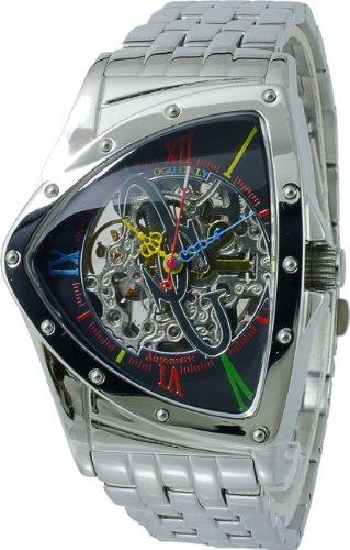 [コグ]COGU 流通限定モデル フルスケルトン 自動巻き 腕時計 BNT-BKC