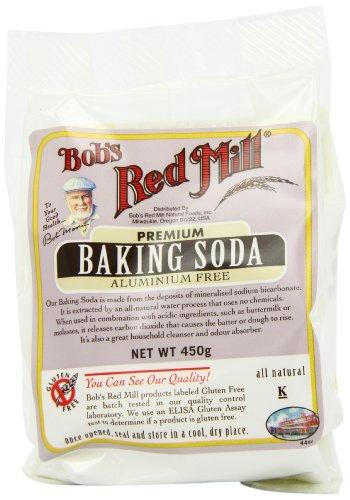 Bob's Red Mill Gluten Free Baking Soda 450 g (Pack of 4)