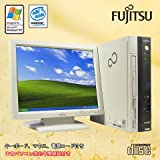 富士通デスクトップパソコンFMV-C630 Celeron2.53/512MB/40GB/CD-ROM/15インチ/XP★ホットラインワールド再生品値下げセール