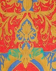 VB Woman's Scarf, fashionable - heraldic pattern