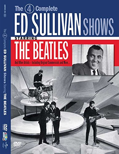 DVD : The Beatles - The 4 Complete Historic Ed Sullivan Shows Starring the Beatles (2 Disc)