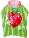 Vitamins Baby Baby-Girls Infant Strawberry Hooded Towel
