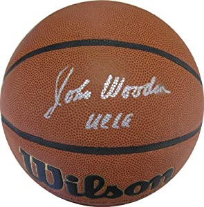 John Wooden, Ucla Bruins, Hall of Fame, Hof,signed,autographed, Ncaa... by Spalding