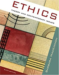 "Cover of ""Ethics: Theory and Contemporary..."