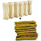 Dog Lovers Dog Bone + Chicken Sticks ,120gms (3-inch X 6 Pcs)
