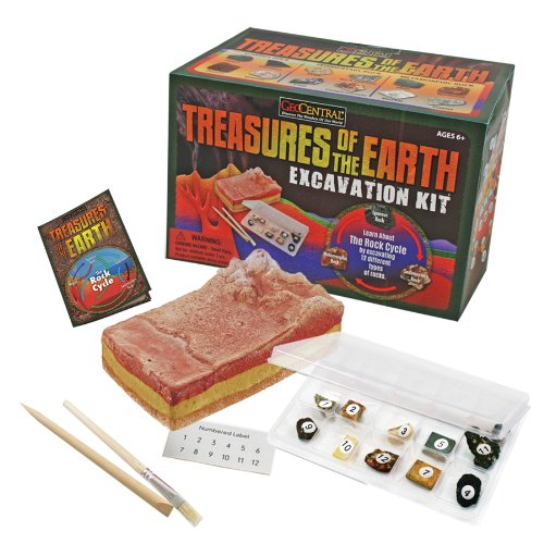 GeoCentral Excavation Dig Kit - Treasures Of The