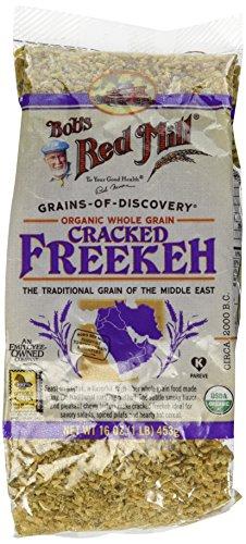 Bob's Red Mill Organic Whole Grain Cracked Freekeh 16 oz (453 grams) Pkg