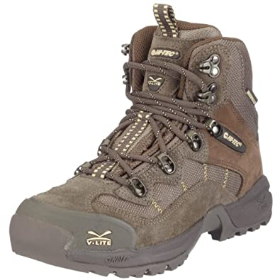 Hi-Tec Women's V-Lite Fasthike II Wp Smokey Brown/Taupe/Golden Haze Hiking Boot F000233/041/01 4 UK
