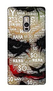 OnePlus Two / OnePlus 2 Hard Case Back Cover - Printed Designer Cover for OnePlus Two / OnePlus 2 - OP2JKRB147