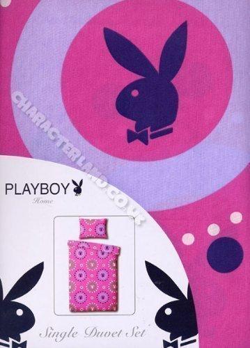 'Bubbles'per bambini, motivo: Playboy-Set di biancheria da letto con copripiumino e federa