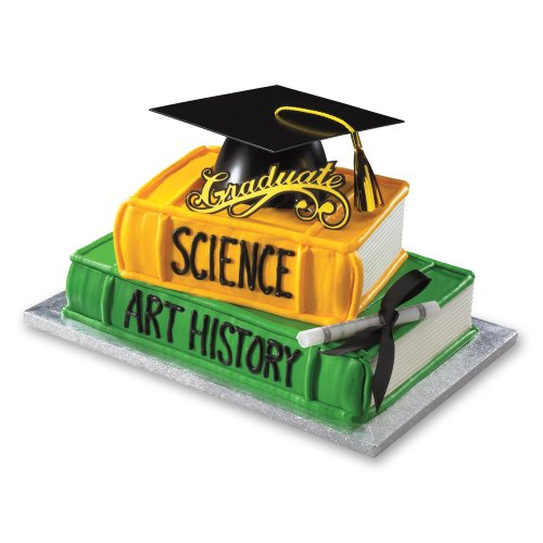 Decopac Graduation Mega Hat DecoSet Cake Topper - 1