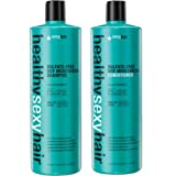 Sexy Hair Healthy Sexy Hair Color Safe Sulfate Free Soy Moisturizing Shampoo & Conditioner, 33.8 Oz Each (Tamaño: 33.8 Oz Duo)